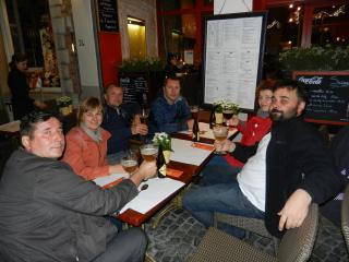 Ужин в Брюгге