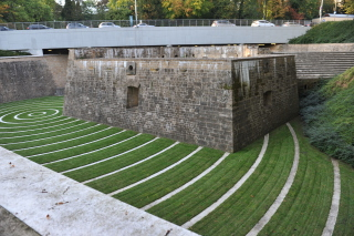 Вид из Люксембургского паркинга