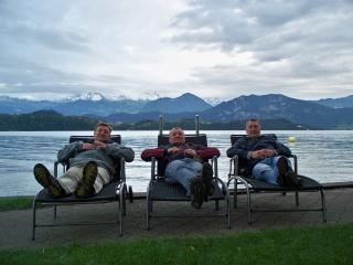 Трое и Альпы