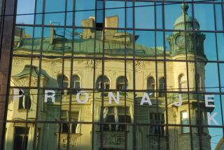 Прага в зазеркалье