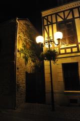 Этрета, улица, фонарь..
