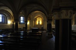 Нижний уровень собора
