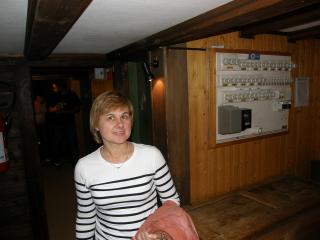 Наталья и раритетный электрощит