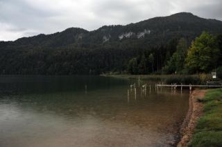 Озеро у отеля