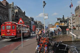 В центре Амстердама