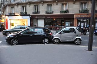 Парковка по парижски