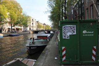 QR код по Амстердамски