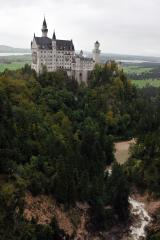 Самый популярный вид на замок