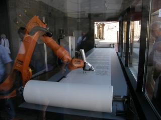 Робот чтото пишет